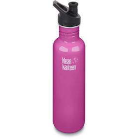 Klean Kanteen Classic Drikkeflaske Sport Cap 800ml pink